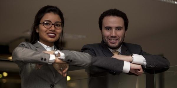 Jéssica Wong Arnao (Comunicación) y Luis Francisco Paz Maury (Derecho).