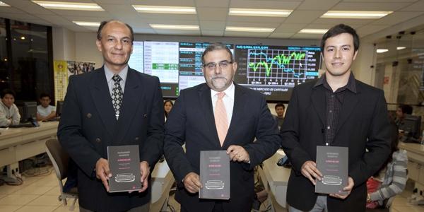 Bruno Bellido, Jorge Medicina y Christian Solís.