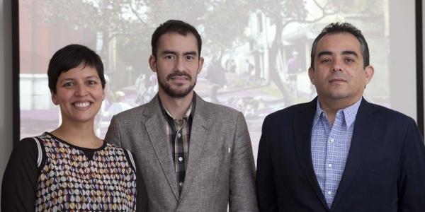 Ángeles Maqueira, Octavio Montestruque y Martín Fabbri.