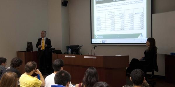 Carlos Romero, del Instituto Colombiano de Normas Técnicas y Certificación (Icontec).