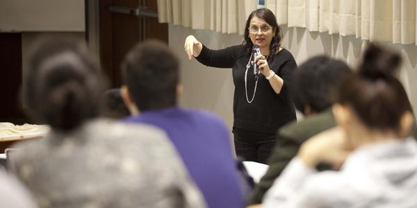 Sandra Barbero Sereno, directora del Instituto Peruano de Logoterapia.