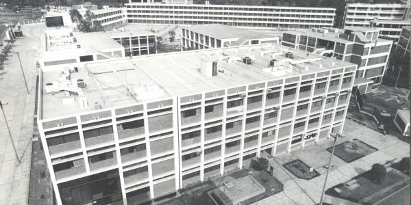 Antigua vista del Edificio H