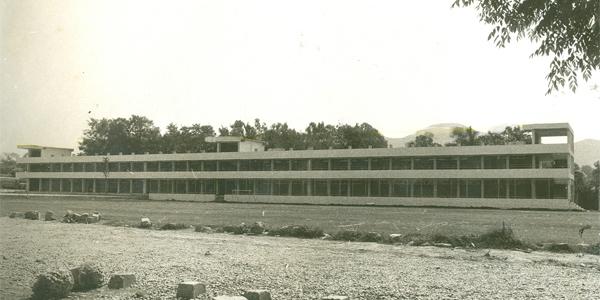 Antigua vista del Edificio G