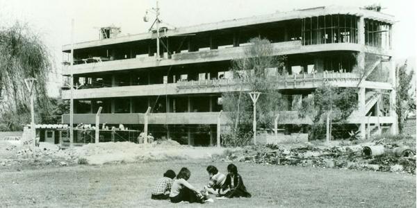 Construcción del Edificio E
