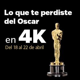 Lo que te perdiste del Oscar en 4K